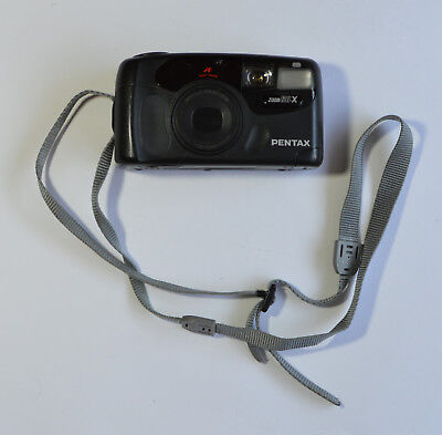 Pentax Zoom 60-X Point and Shoot Film 35mm Camera Vintage