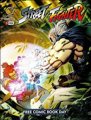 Udon Comics Street Fighter 0 Free Comic Book Day NM-/M 2014
