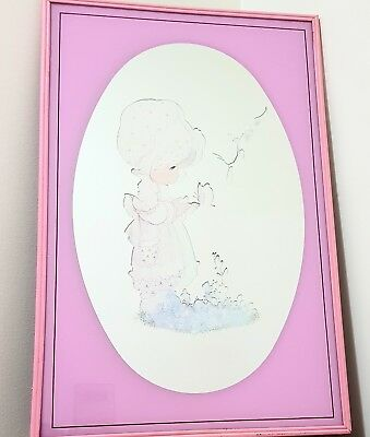Vintage 80s Mirror Holly Hobbie