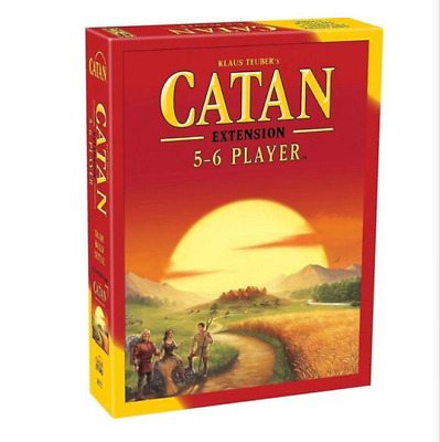 New Settlers of Catan 5th Edition Board Game 5-6 Players Extension Pack Party