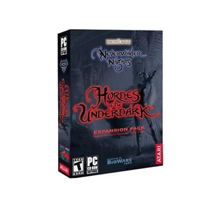 Bioware Computer Gam Neverwinter Nights - Hordes of the Underdark Expa Box MINT