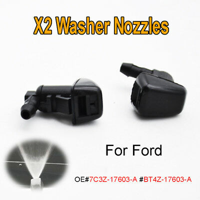 X Front Windshield Washer Nozzles Jet For Ford Edge Lincoln Mkx Btz  A