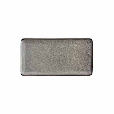 Pack of 6 Olympia Mineral Rectangular Plate 255mm   Food Serving Dishes