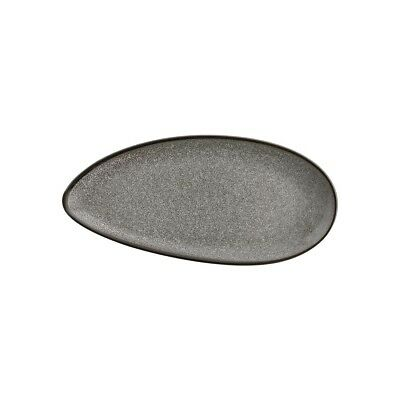 Pack of 6 Olympia Mineral Leaf Plate 305mm | Food Serving Dishes