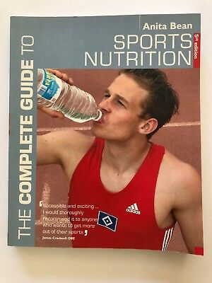 The Complete Guide To Sports Nutrition Book By Anita Bean 0713675586