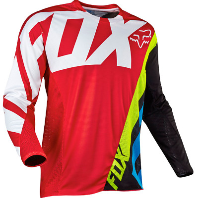 FOX 360 CREO Motocross Jersey Mens 2XL NEW Red rrp$79 Dirt bike Off road MX