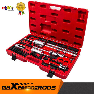 40PCS Diesel Injector Extractor Remover Puller Tool MASTER Kit for VW BMW FORD