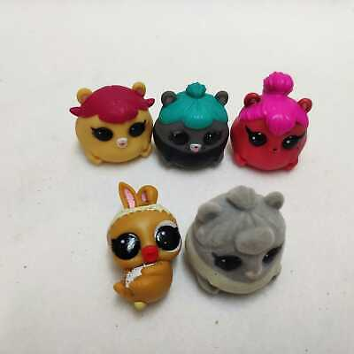 5x LOL SURPRISE PETS Fuzzy Trouble Squeaker Cheeky Hedgehog Cherry Spicy Hamster