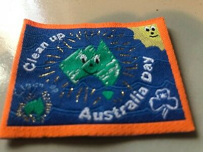 Girl Guides / Scouts Clean up Australia orange