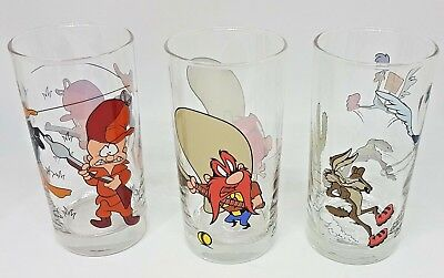 IXL~Collectable~Glasses~Warner Bros 1997~Looney Tunes 1998~Bright Clean Colours