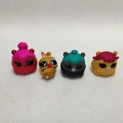 5x LOL SURPRISE PETS Doll Trouble Squeaker Hippity Hop Cherry Spicy Hamster