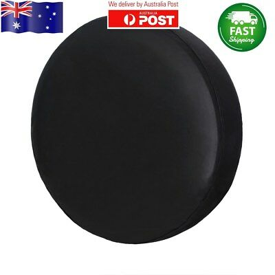 """Spare Tire Tyre Cover 16inch Black Wheel Covers Protector For Φ 30""""-31""""/76~79cm"""