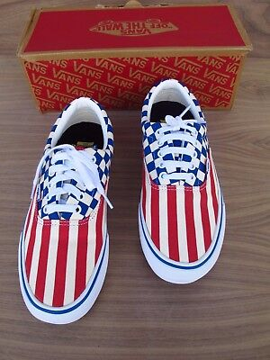 774898303e0457 VANS AUTHENTIC Era Pro 50th Stripes Chckrs PRO SKATE AUTHENTIC US Men 8.5