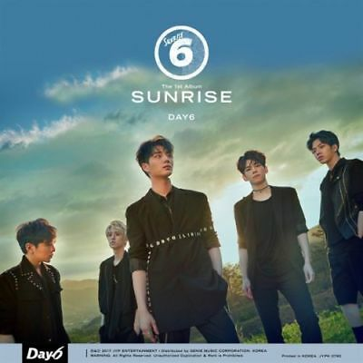 DAY6 [SUNRISE] 1st Album CD+Photo Book+Card+Clear Cover+Lyrics+GIFT CARD SEALED