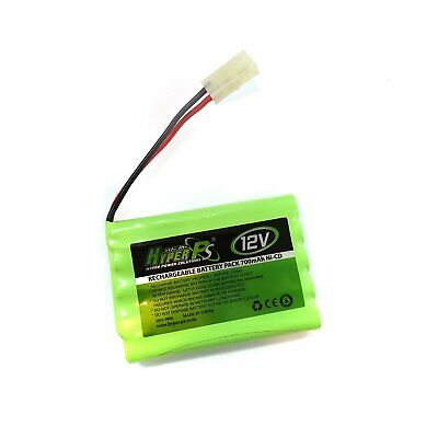 1pcs 12V 700mAh NI-CD Rechargeable Battery Pack HyperPS Tamiya Plug