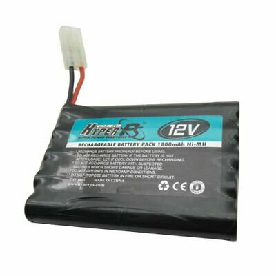 1x 12V 10*AA 1800mAh NI-MH HyperPS Rechargeable Battery Pack with Tamiya Plug