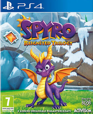 Videogioco PS4 Spyro Reignited Trilogy Nuovo Saga 3 Giochi IT Sony PlayStation 4