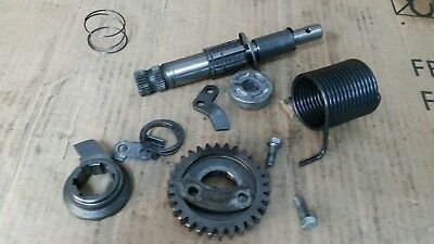 kawasaki f5 bighorn f9 kick start shaft and  parts