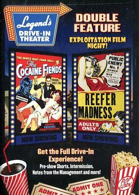 Legend's Drive-In Double Feature: Exploitation Film Night!: The Cocaine NEW DVD