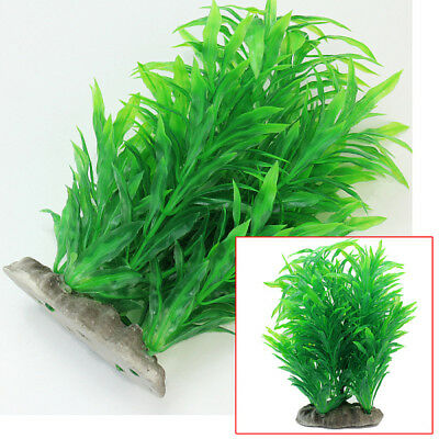 Green Artificial Fish Tank Aquarium-Plastic Water Plant Ornament Decoration Hot