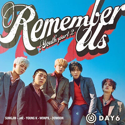 DAY6 REMEMBER US:YOUTH PART 2 4th Mini Album 2 Ver SET+2Book+8Card+GIFT+PreOrder