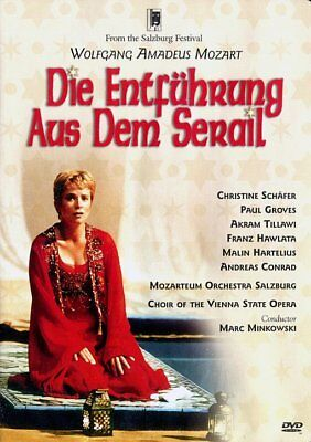 Mozart: Die Entfuhrung aus dem Serail (The Abduction from the Seraglio) NEW DVD