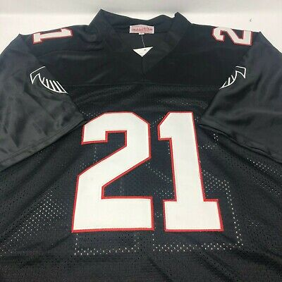 7906b97f8 Deion Sanders Atlanta Falcons Mitchell & Ness Throwback Stitched Jersey NWT