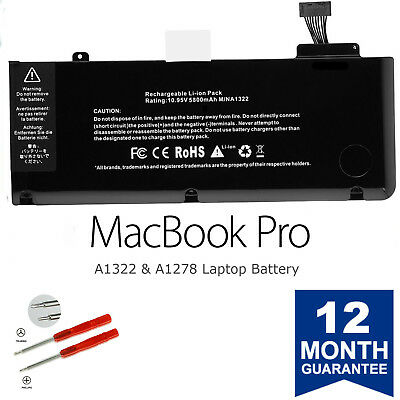 Brand New A1322 Battery for Apple MacBook Pro 13'' A1278 2009/2010/2011/2012