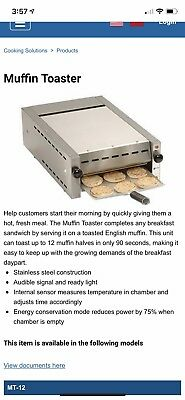 Antunes Muffin Toaster