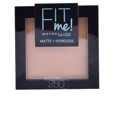 Maquillaje Maybelline mujer FIT ME MATTE+PORELESS powder #250-sun