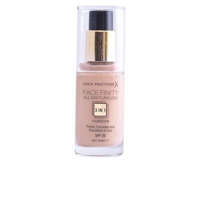 FACEFINITY ALL DAY FLAWLESS 3 IN 1 foundation #77-softhoney