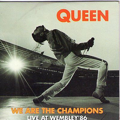 Cd Cartonne Cardsleeve 2T Queen We Are The Champions Live At Wembley'86 De 1992