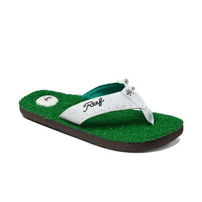 e5487a7cd0f3 Reef Mens Flip Flops.mulligan Ii Golf Arch Support Thongs Sandals Shoes 9S  Grn