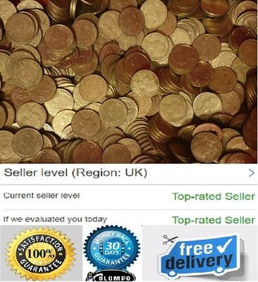 1.9 or 1 Kg French 20 Cent Centime Coins Diverse collection Pre Euro France UK