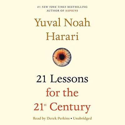 21 Lessons for the 21st Century  By Yuval Noah Harari (AUDIO BOOK)