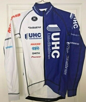 United Healthcare UHC Pro Cycling Team Thermal Long Sleeve Jersey XS Wilier 4345e701f