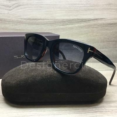554d94756c95 TOM FORD OLIVIER Black Havana   Gray Gradient Sunglasses TF236 05B ...