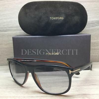 3b24c530ec TOM FORD OLIVIER TF236 236 Sunglasses Black Brown 05B Authentic 58mm -   149.95