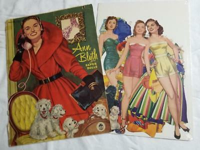 2013-Ann Blyth,Pets,Doll Town,Circus /& More Paperdoll Review Magazine Issue #55