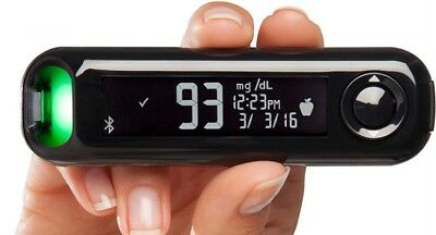 Contour Next One Bayer Bluetooth Blood Glucose Meter with Carrying Case NEW