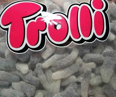 Trolli Sour Cola Bottles 2kg Bulk Bag (Approx 400pcs)
