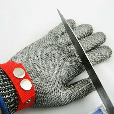Metal Mesh Wire Butcher Gloves Stainless Steel Safety Cut Proof Stab Resistant
