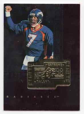 1998 Spx Finite Radiance John Elway Parallel #d /3600 Sp Denver Broncos Hof
