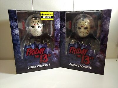 Mezco Friday The 13th Jason Voorhees Stylized Regular & Bloody Glow EE Exclusive