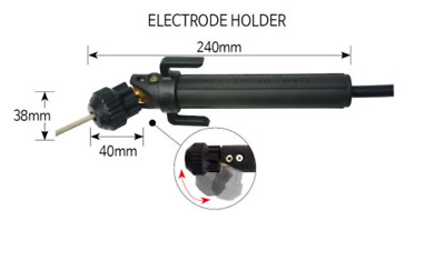 Pivoting Head Arc Welding Stick Electrode Holder One of a KIND~ Korea Patented