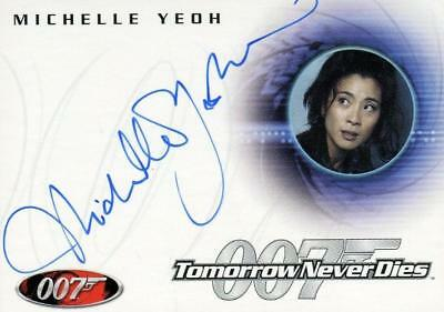 James Bond A30 The Quotable James Bond Michelle Yeoh Autograph Card