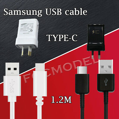 ORIGINAL Wall Charger &Type C Cable Samsung Galaxy S9 S8+ Note 9 8 data