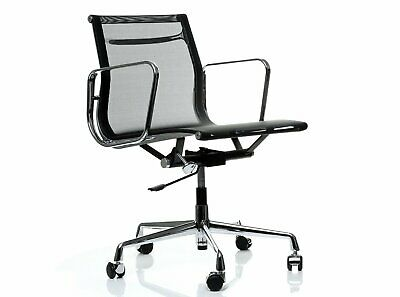 Replica Eames Office Chair Mesh Low Back Black