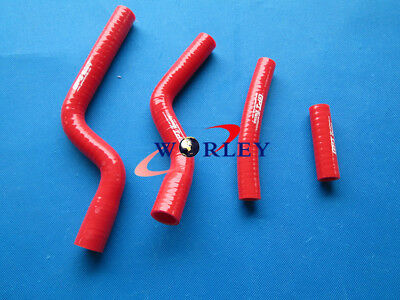 For YAMAHA YZ250F YZF250 2007 2008 2009 07 08 09 Silicone Radiator Hose RED
