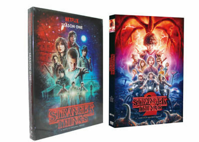 Stranger Things: The Complete Seasons 1-2 (DVD, 5-Disc Box Set) UK compatible